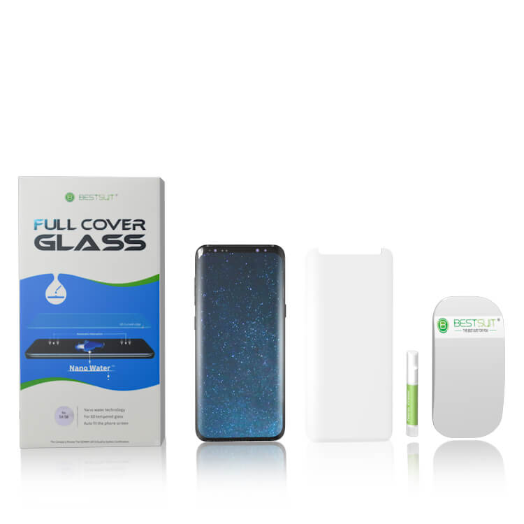 Full Glue Adhesive Tempered Glass Packing