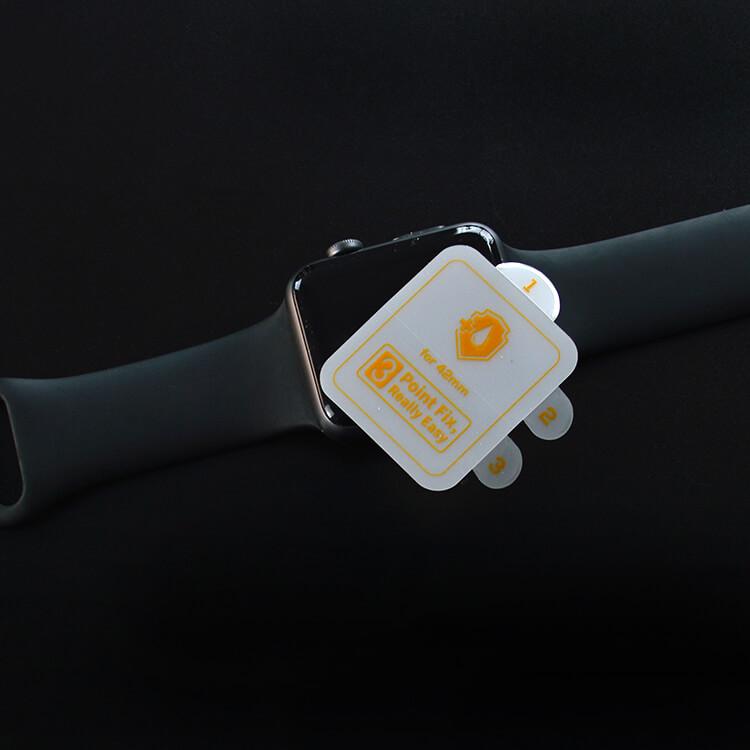 anti fingerprint apple smart watch screen protector for apple 42mm