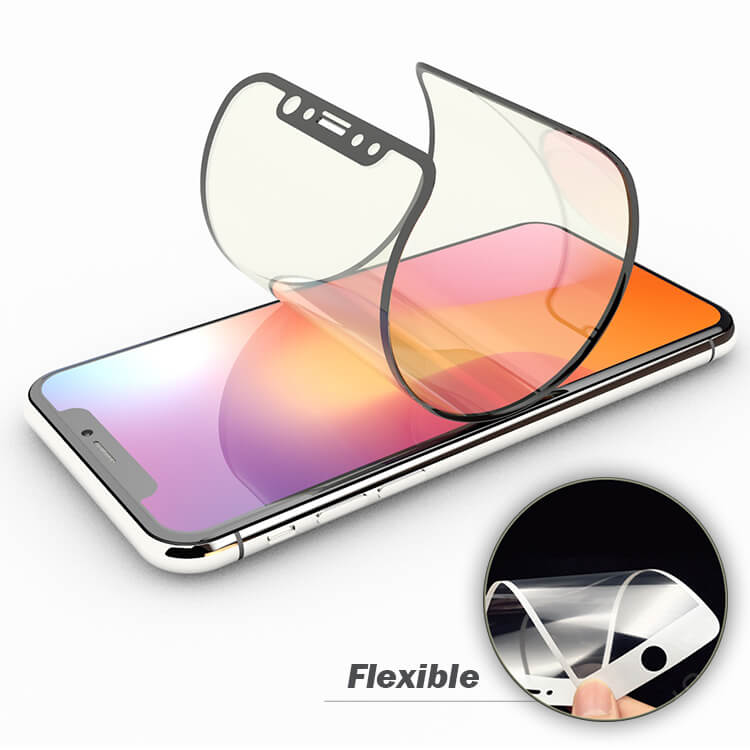 9H 3D Molecular Flexible Glass Screen Protector iphone xr