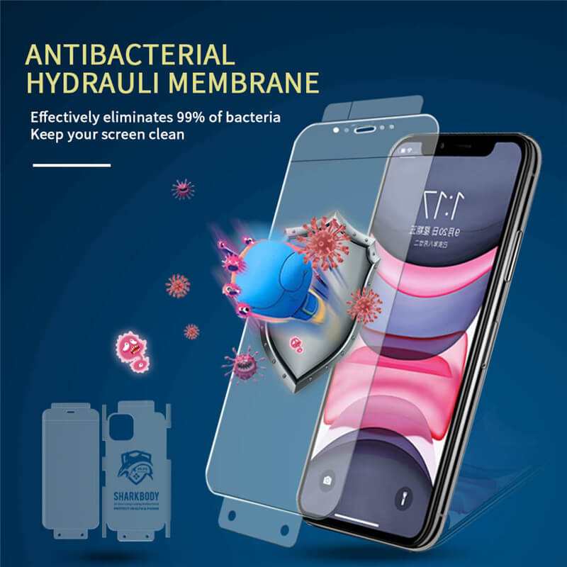 SHARKBODY Antimicrobial mobile phone screen protector